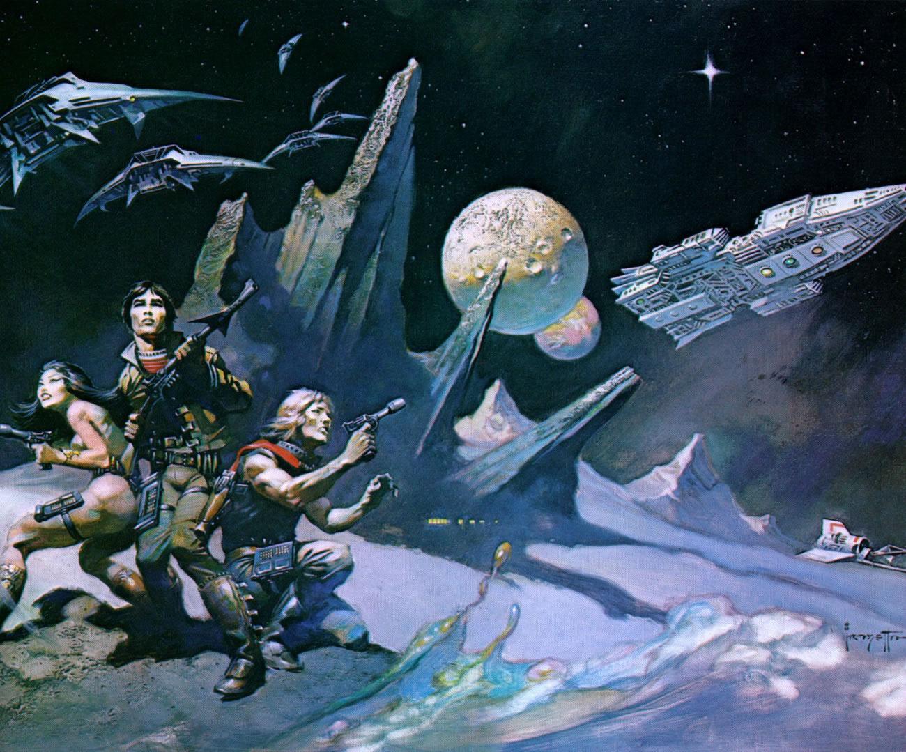 Qué es la Space Opera? | En la Antesala Al Portal Oscuro