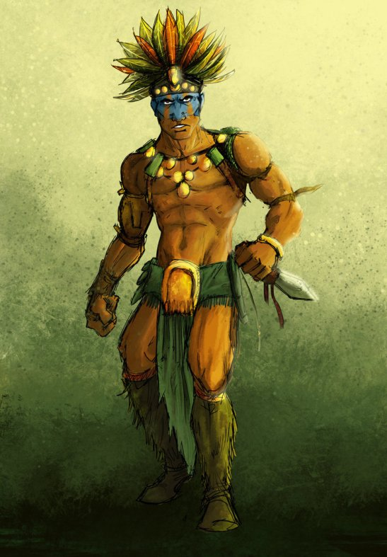 aztec_warrior_by_azad03-d4o2qzt